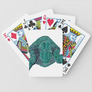 Hanauma Bay Hawaii Turtle Bicycle Playing Cards