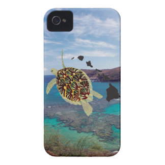 Hanauma Bay Hawaii Turtle iPhone 4 Covers