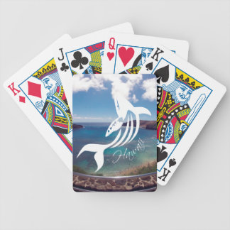 Hanauma Bay Hawaii Whale Bicycle Playing Cards