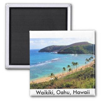 Hanauma Bay Honolulu Oahu Hawaii View Fridge Magnets