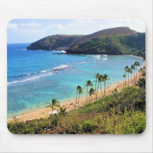 Hanauma Bay, Honolulu, Oahu, Hawaii View Mousepads