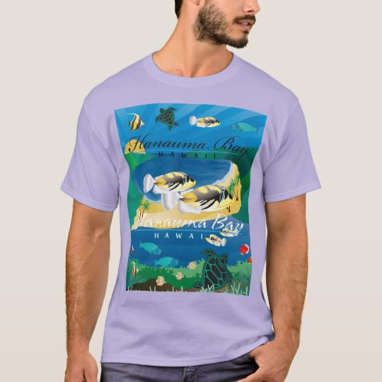 Hanauma Bay Oahu Hawaii Fish - Humuhumunukunukuapu T-Shirt