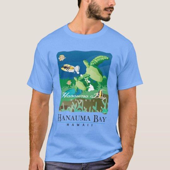 Hanauma Bay Oahu Hawaii Honu T-Shirt