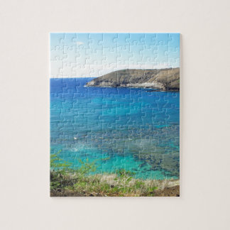 Hanauma Bay Oahu Hawaii Jigsaw Puzzle