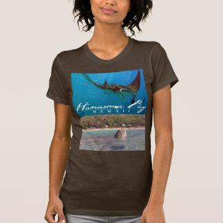 Hanauma Bay Oahu Hawaii Manta Ray and Turtle T-Shirt