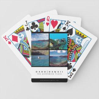 Hanauma Bay - Oahu hawaii Poker Deck
