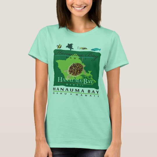 Hanauma Bay Oahu Hawaii T-Shirt