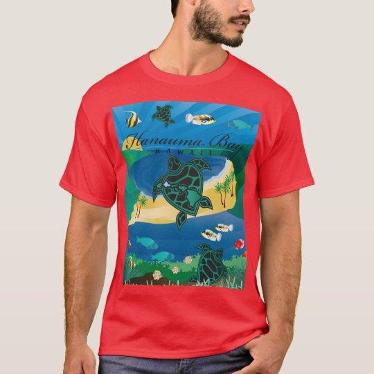 Hanauma Bay Oahu Hawaii Turtle T-Shirt