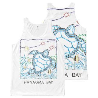 Hanauma Bay Turtle All-Over-Print Tank Top