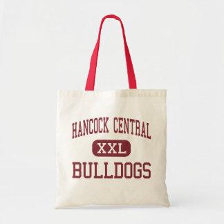 Hancock Central - Bulldogs - High - Sparta Georgia Budget Tote Bag