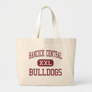 Hancock Central - Bulldogs - High - Sparta Georgia Jumbo Tote Bag