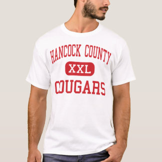 Hancock County - Cougars - Middle - Lewisport T-Shirt