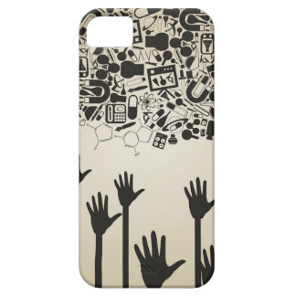 Hand a science iPhone 5 covers
