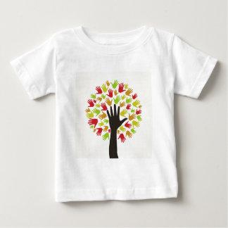 Hand a tree2 baby T-Shirt
