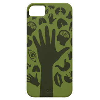 Hand a tree3 case for the iPhone 5