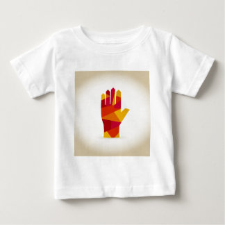 Hand abstraction baby T-Shirt