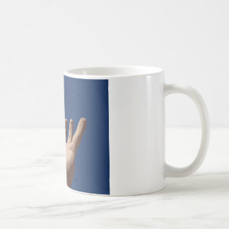 Hand and Sky Classic White Coffee Mug