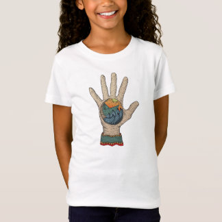 hand and the sailing boat T-Shirt