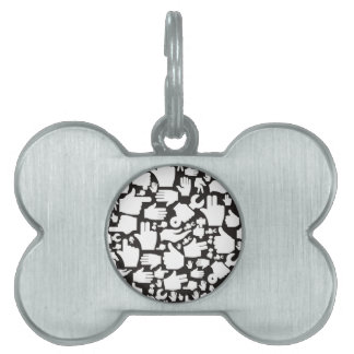 Hand background2 pet name tags