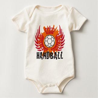 hand ball baby bodysuit