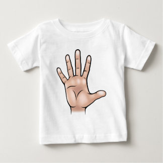 Hand Body Part Baby T-Shirt
