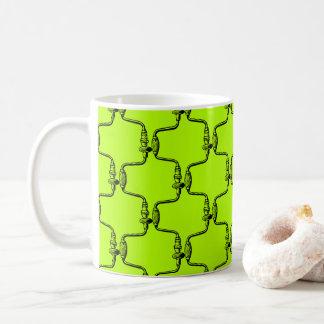Hand Brace Carpenter Handyman Hand Tool Green Mug