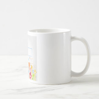Hand business coffee mug