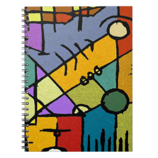 Hand Draw Artistic Design Note Book