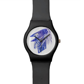 Hand Draw Monster Portrait Ilustration Watch