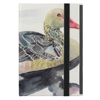 Hand Draw Watercolor Bird, Duck Covers For iPad Mini