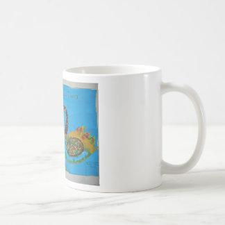 Hand Drawing Classic White Coffee Mug