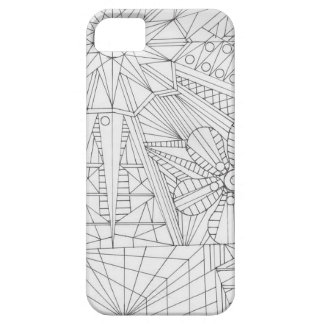 Hand Drawn Abstract nature iPhone 5 Cover