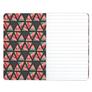 Hand Drawn Abstract Watermelon Pattern Journal