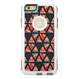 Hand Drawn Abstract Watermelon Pattern OtterBox iPhone 6/6s Plus Case