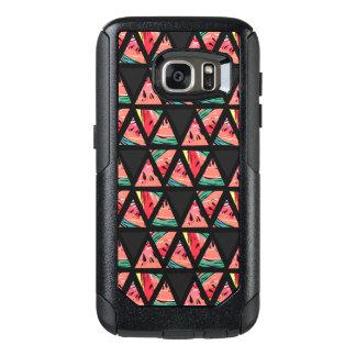Hand Drawn Abstract Watermelon Pattern OtterBox Samsung Galaxy S7 Case