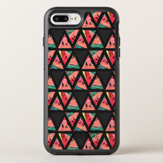 Hand Drawn Abstract Watermelon Pattern OtterBox Symmetry iPhone 8 Plus/7 Plus Case