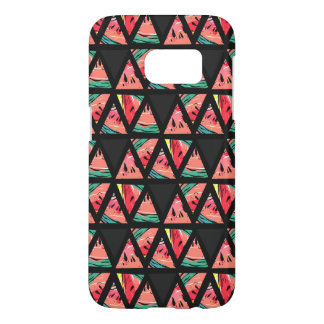 Hand Drawn Abstract Watermelon Pattern Samsung Galaxy S7 Case