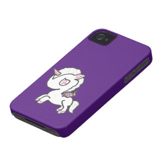 Hand Drawn Baby Unicorn iPhone 4 Cases
