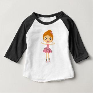 Hand drawn beautiful Ballerina pink Edition Baby T-Shirt