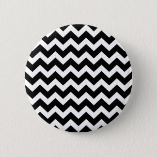 Hand drawn button : black and white