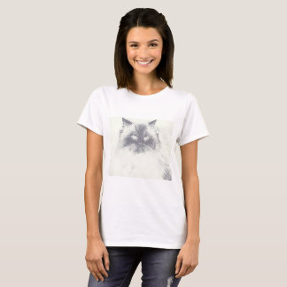 Hand Drawn Cat Lover T-Shirt
