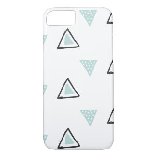 Hand Drawn Customizeable Color Pattern iPhone 7 Case