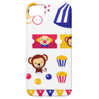 Hand drawn cute Circus edition : Ballerina stuff Case For The iPhone 5