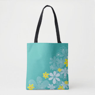 Hand drawn cute Floral bag
