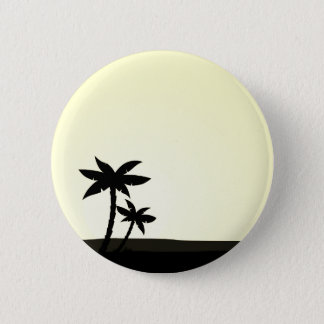Hand drawn cute Palms 2 Inch Round Button