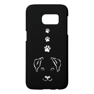 Hand Drawn Dog Samsung Galaxy S7 Slim Phone Case