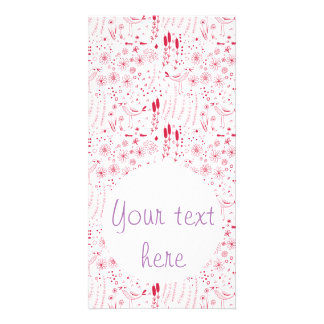 Hand - drawn doodle seamless pattern design photo greeting card