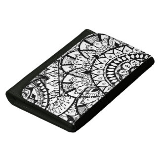 Hand drawn doodle wallet
