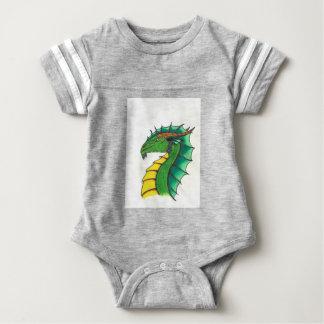 Hand drawn Dragon Baby Bodysuit