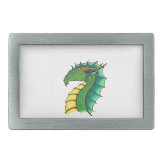 Hand drawn Dragon Belt Buckle
